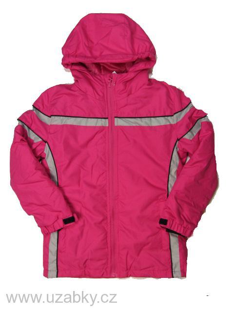 vel.122-128- (na visačce 134)-Dívčí zimní bunda Neverest - růžová barva