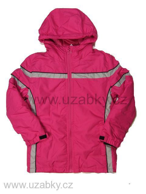 vel.146- (na visačce 158)-Dívčí zimní bunda Neverest - růžová barva