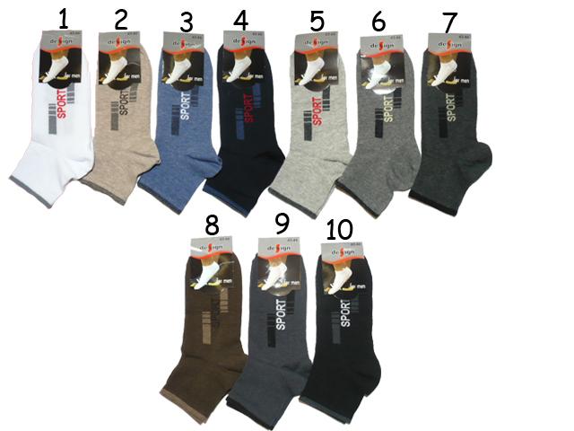 914b068437b vel.43-46-Pánské ponožky střední výška - Design Socks empty