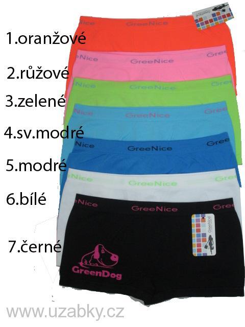 f6c01b0c639 M-L-Dámské nohavičkové bezešvé kalhotky Greenice