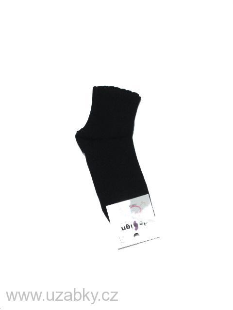 vel.36-40-Dámské ponožky - střední výška - černá 1f12e7ebce