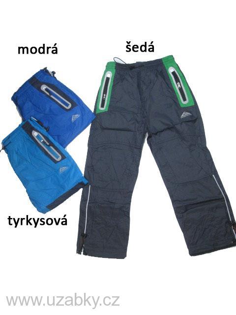 740da8de608 116-140-Dětské šusťákové kalhoty jarní KUGo