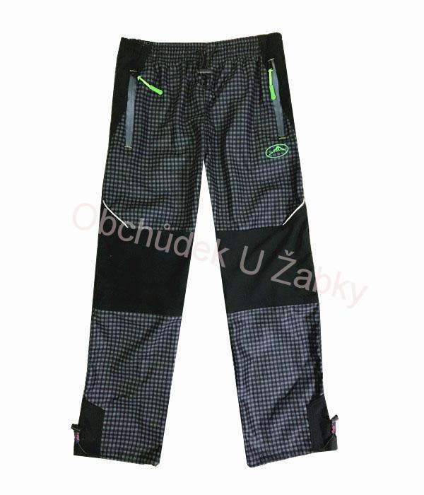 134-164-Chlapecké outdoorové kalhoty Kugo - černo-šedá barva ed4e8d2b8a