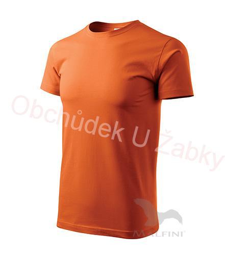 caeb5a39cc38 L-Tričko-Basic-Adler-Unisex - barva oranžová
