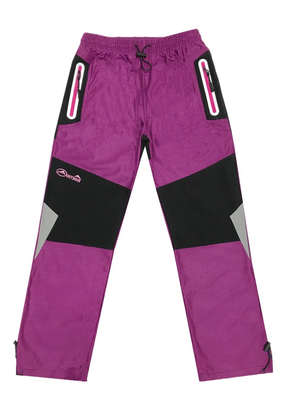 6966a253ba 134-164-Dívčí outdoorové kalhoty Kugo - fuchsiová barva empty