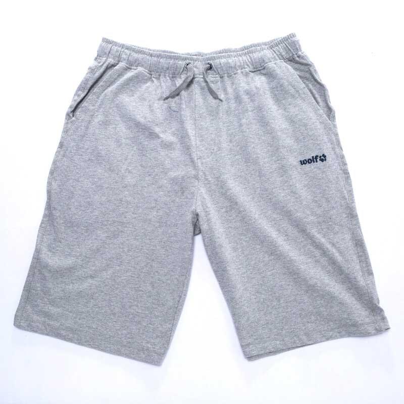 Xl-Pánské šortky WOLF - barva šedý melír empty 397c654761