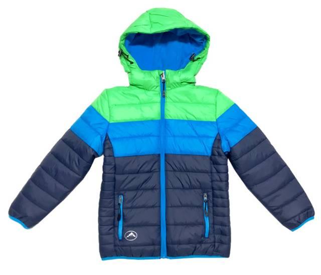 98-Chlapecká zimní bunda KUGO - modro-zelená empty e023eb83b4