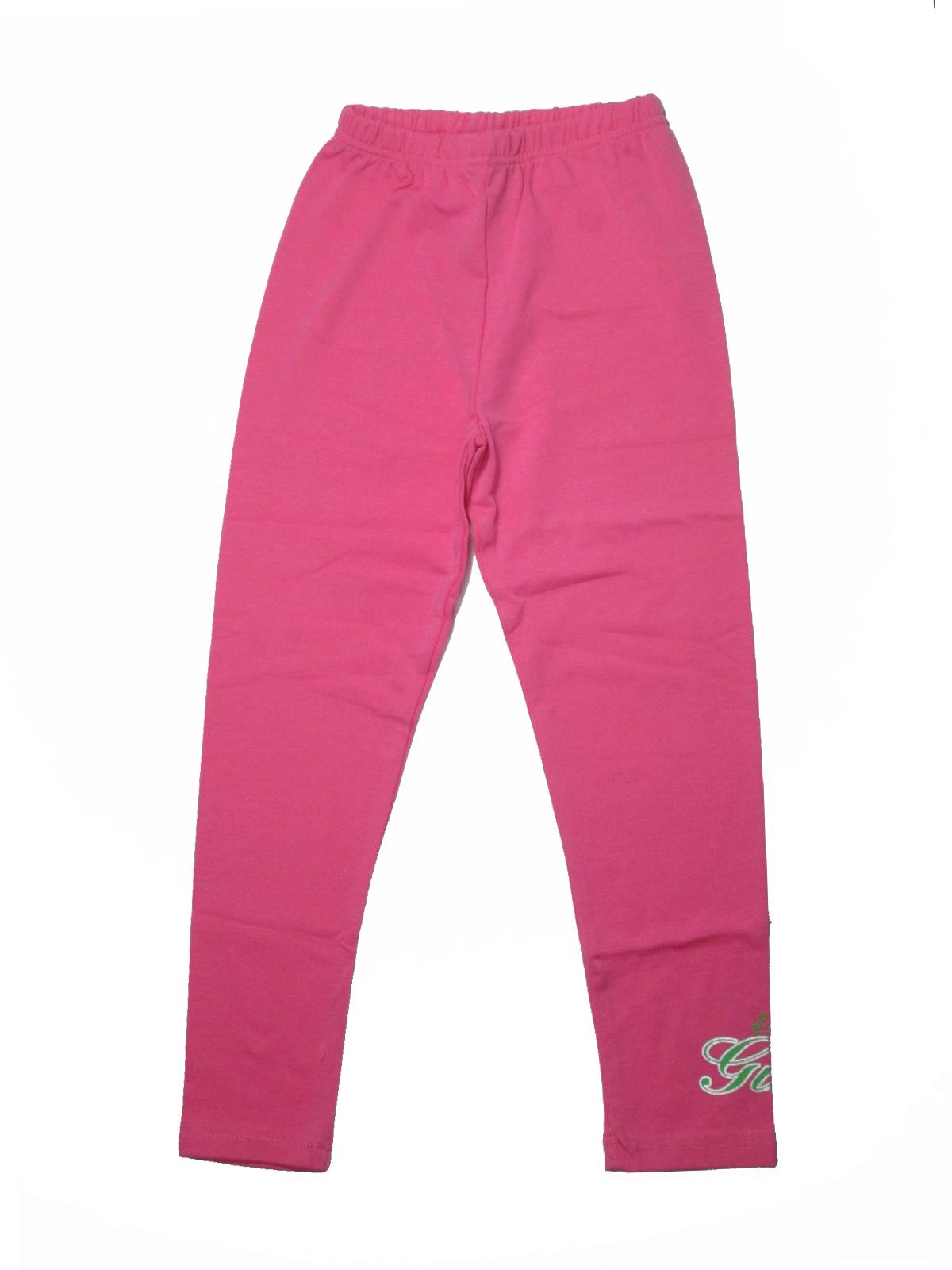 104-110-Dívčí legíny Piccola Monellina - růžová barva empty ef4cd851ec