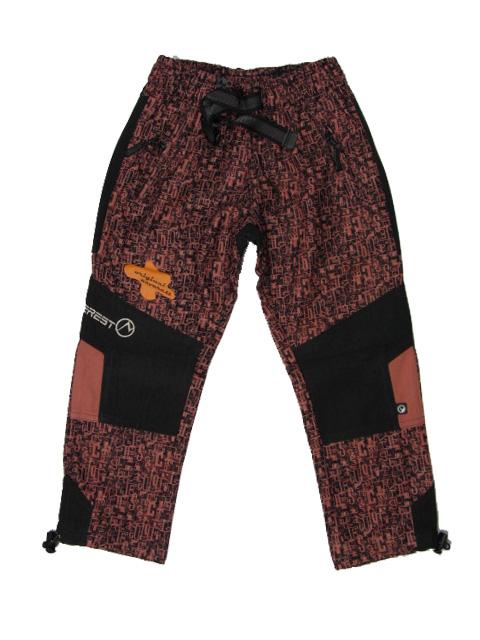 vel.152-Dětské kalhoty Neverest - starorůžová barva