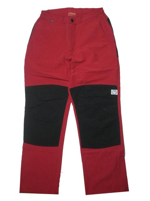 vel.158-Dívčí outdoorové kalhoty Neverest - barva červená