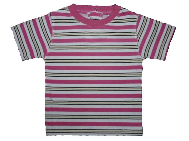 vel.86-Dětské kojenecké tričko WOLF - růžová barva
