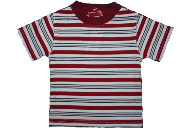 vel.74-Dětské kojenecké tričko WOLF - cihlová barva