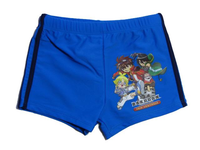 vel.116-Chlapecké plavky Bakugan - modrá barva