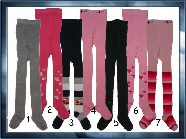 vel.104-110-Dětské froté punčocháče Design Socks