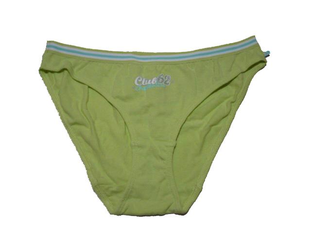 Dívčí kalhotky zelená barva vel.152-170