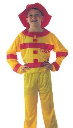 6-9 let -Karnevalový kostým Hasič