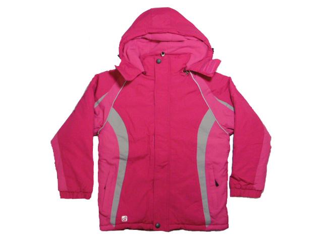 vel.134,158-Dívčí velká zimní bunda KUGO - růžová barva
