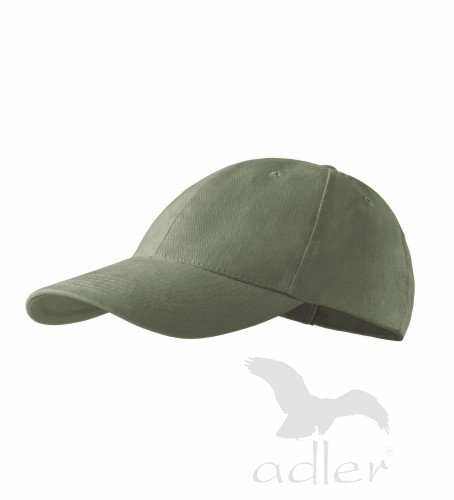 Kšiltovka ADLER - barva khaki - UNI VELIKOST