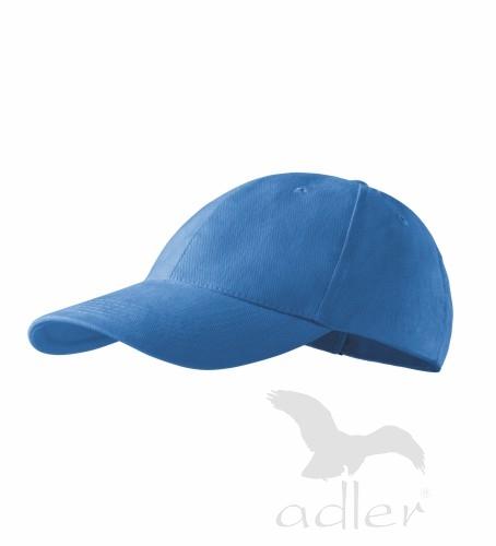 Kšiltovka ADLER - barva azurově modrá - UNI VELIKOST