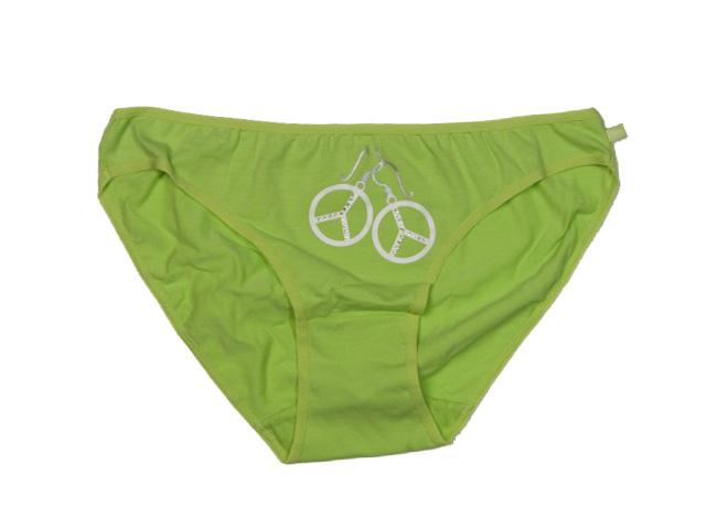 vel.152-170-Dívčí kalhotky - zelená barva