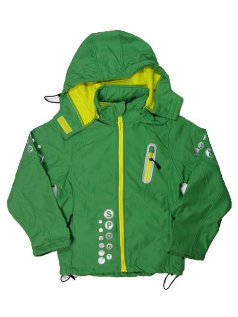 vel.158 (odpovídá vel.146)-Dívčí/chlapecká jarní bunda - zelená barva