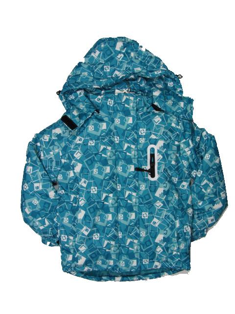 vel.122-128,134-140-Dívčí zimní bunda Monellina - barva zelená