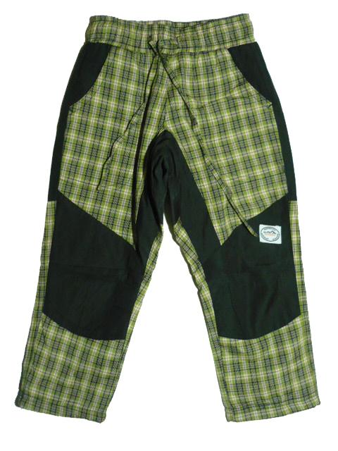 vel.98-Dětské zateplené kalhoty Neverest - zelená barva