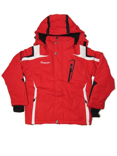 vel.164-Zimní bunda Temster - červená barva