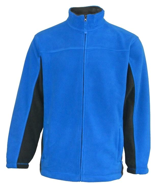 vel.M,L,2XL-Pánská fleesová mikina Lambeste - modrá barva