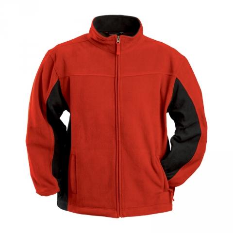 vel.M,L,XL,XXL-Pánská fleesová mikina Lambeste - červená barva