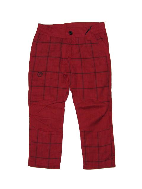 vel.158-Dětské outdoorové kalhoty Neverest - červená barva