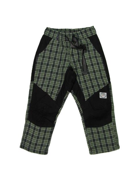 98-Outdoorové zateplené kalhoty Neverest - 100% bavlna - barva zelená