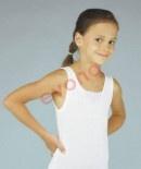 92,104-122,134,140-Dívčí košilka (tílko) krajka EVONA - JULIE - barva bílá