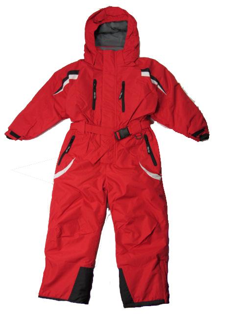 Dívčí zimní kombinéza YDI - barva červená vel.110-116