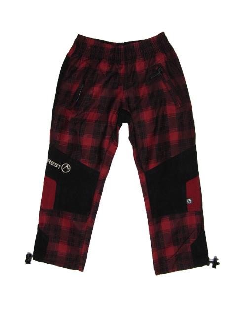 vel.104-Dětské kalhoty Neverest - červená barva