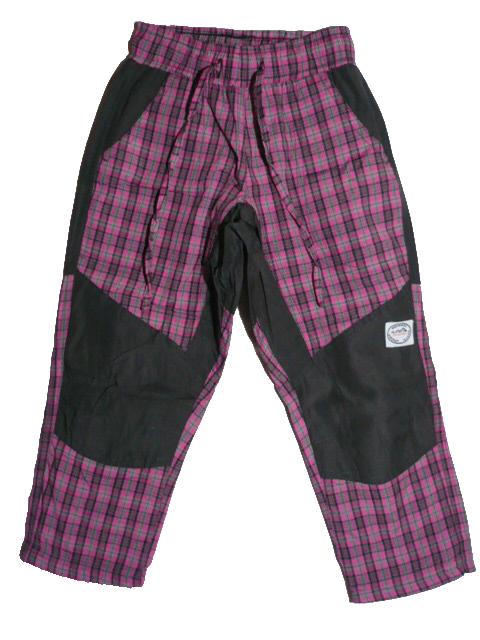 vel.152-164-Outdoorové letní kalhoty Neverest - barva fialová