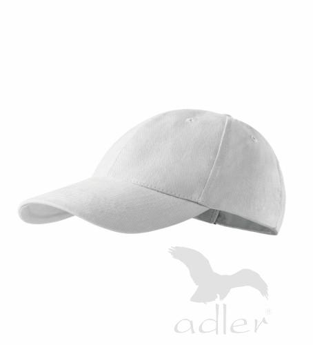 Kšiltovka ADLER - barva bílá - UNI VELIKOST