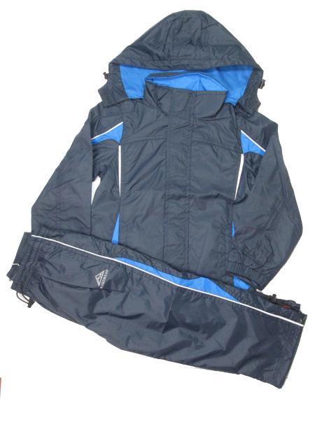 98-Sportovní šusťáková jarní souprava KUGO - tm.modrá barva