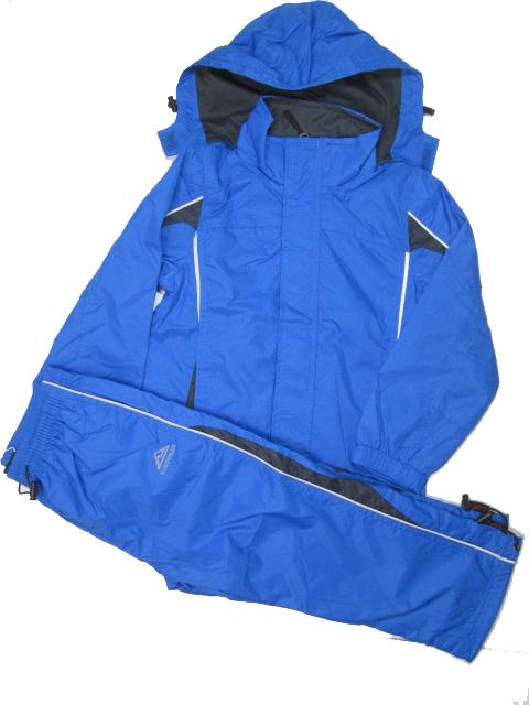 98,104-Sportovní šusťáková jarní souprava KUGO - modrá barva