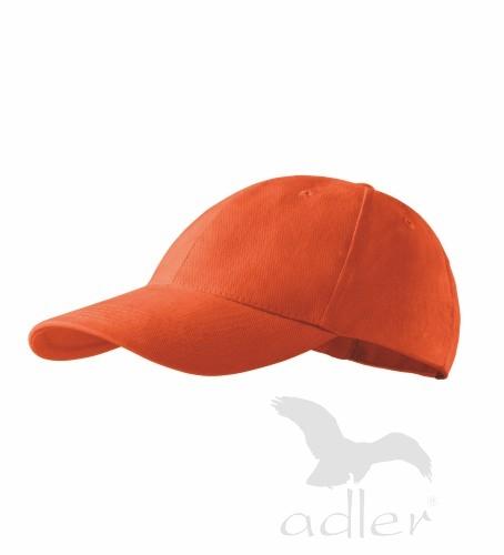 Dětská kšiltovka ADLER - barva oranžová - UNI VELIKOST