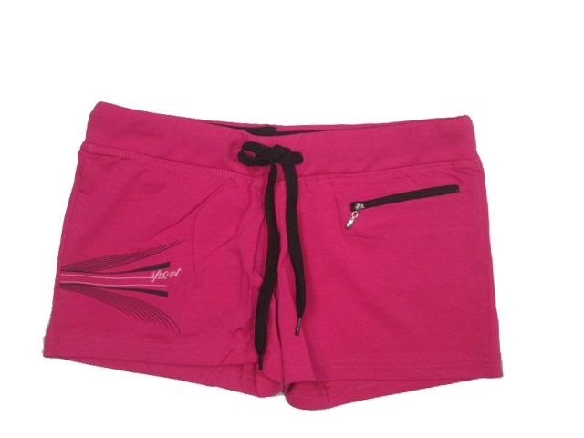 vel.L,XL-Dámské šortky N-feel - růžová barva
