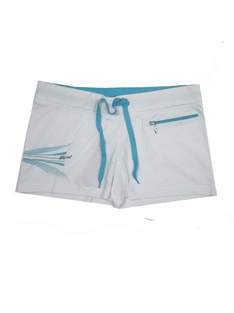 vel.L-Dámské šortky N-feel - bílá barva
