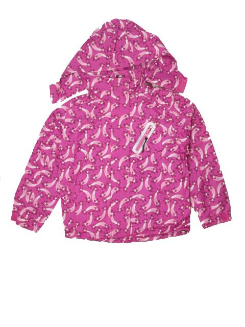 vel.110-116-Dívčí podzimní/jarní bunda - růžovo-fialová