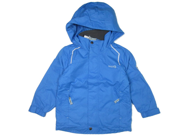 vel.104,116-Chlapecká podzimní/jarní bunda WOLF - barva modrá