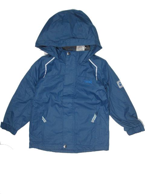 vel.122-Chlapecká podzimní/jarní bunda WOLF - barva tm.petrolejová
