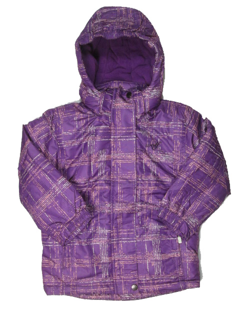 vel.98,116-Dívčí zimní bunda WOLF - fialová barva