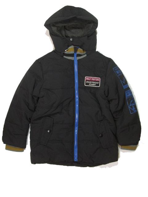 vel.116,140-Chlapecká zimní bunda WOLF - černá barva