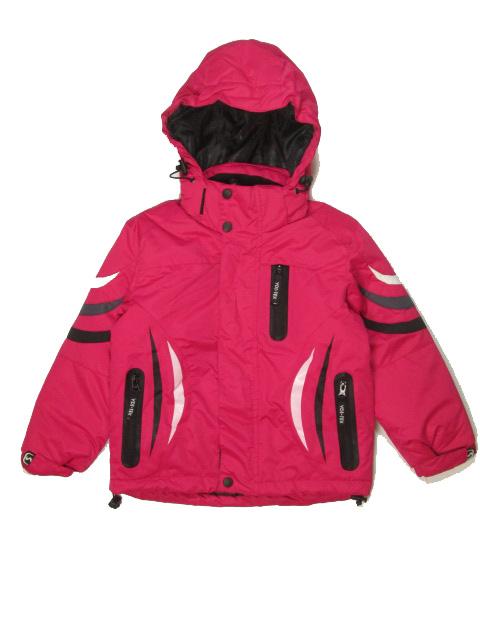 vel.110-116-Dětská zimní bunda YDI - růžová barva