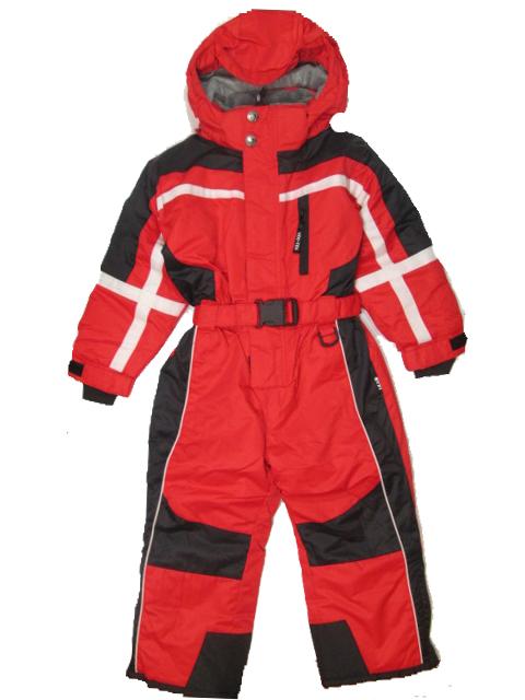 vel.98-104--Dětská zimní kombinéza YDI - barva červená
