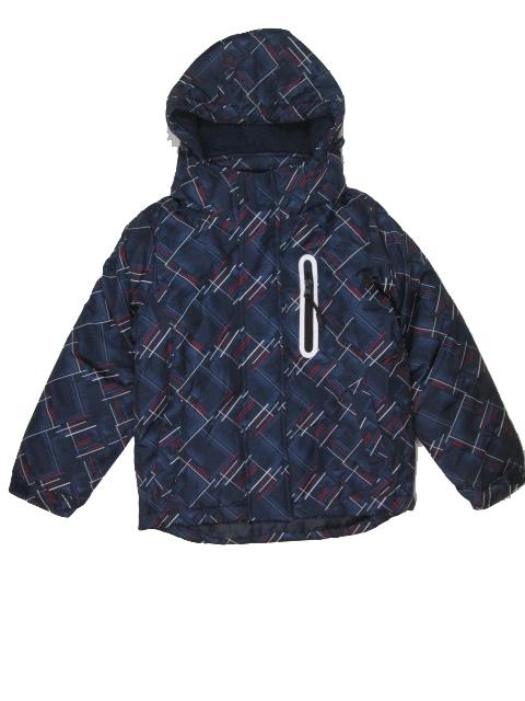 vel.110-116-122-Chlapecká zimní bunda Monellina - tm.modrá barva